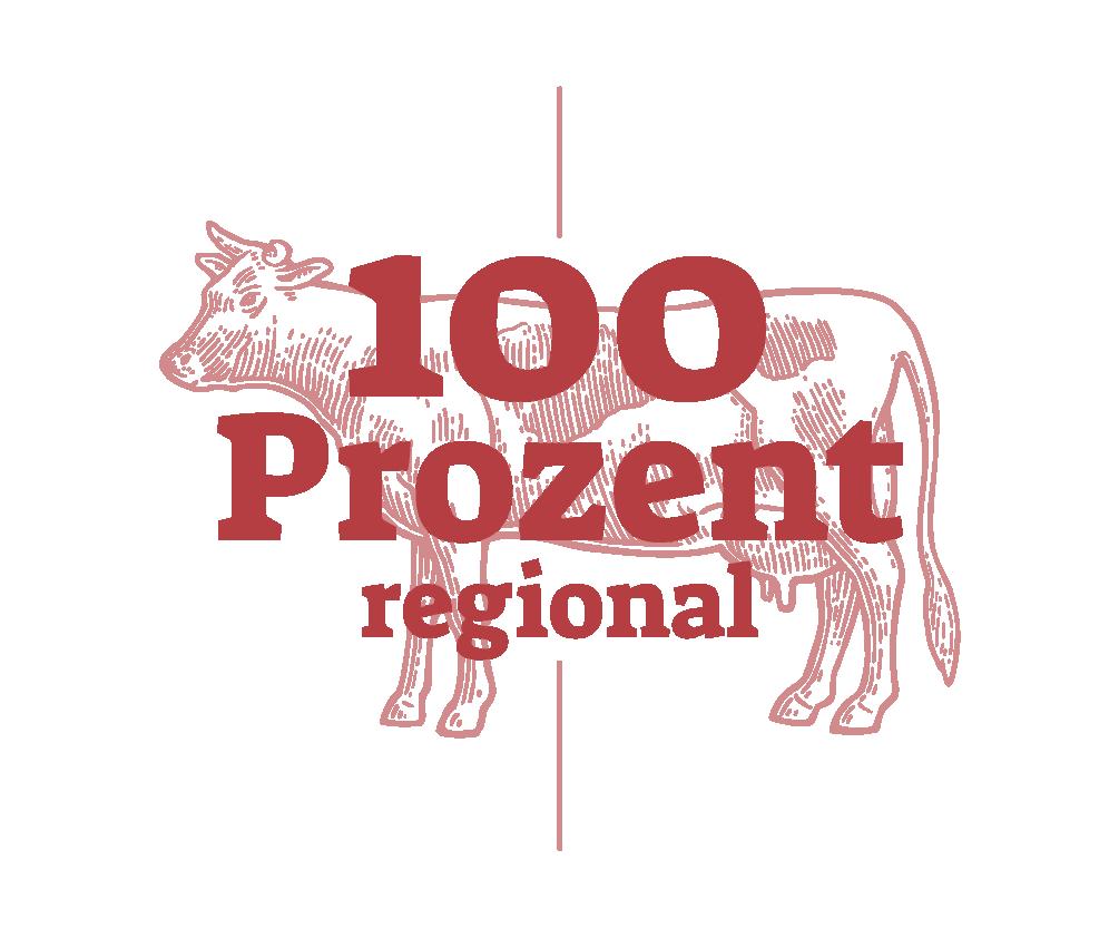 100 Prozent regional mit Kuh